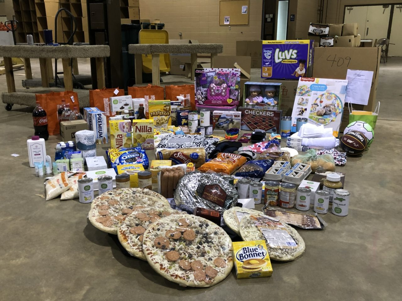 Sioux Falls Cares package